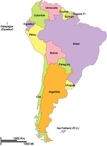 Equateur Carte Hydrographie